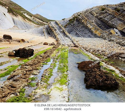 Liencres coast  Cantabria  Spain