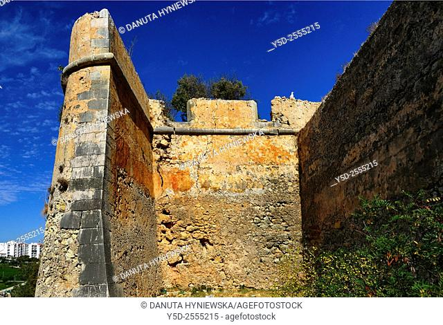 Europe, Portugal, Algarve, Lagos, old town, historic fortified walls