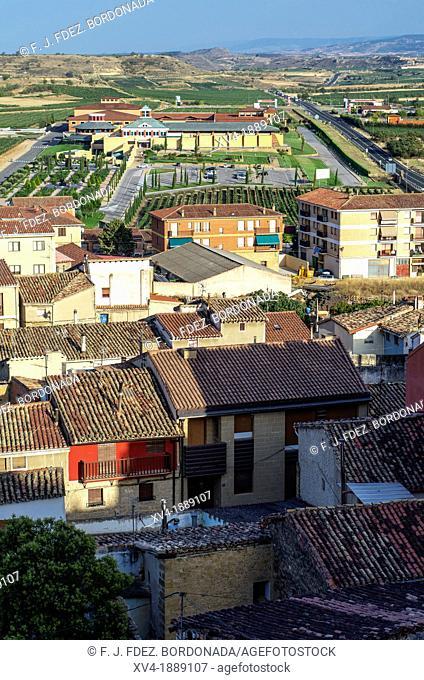 Briones village, La Rioja, Spain
