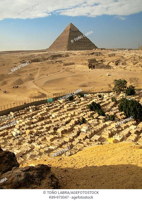 Cementerio Musulmán, Pirámides Giza, El Cairo, Egipto