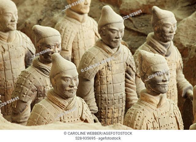 Terra Cotta Army in Xi'an