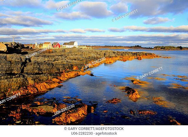 Blue Rocks near Lunenburg, Nova Scotia, Canada