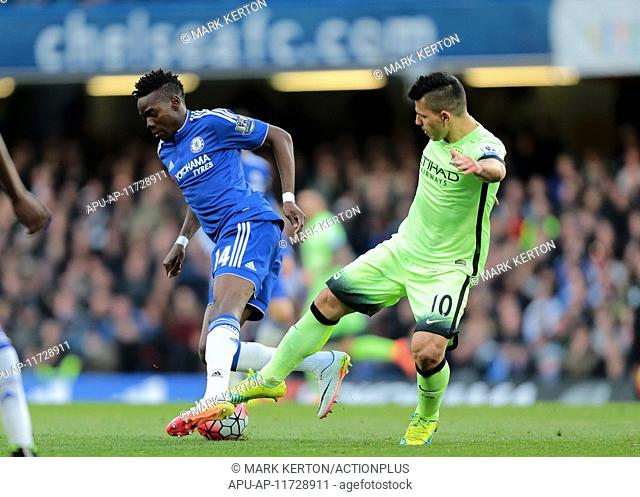 2016 Barclays Premier League Chelsea v Manchester City Apr 16th. 16.04.2016. Stamford Bridge, London, England. Barclays Premier League