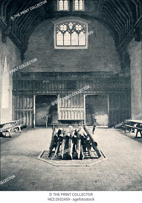 'The Hall, Pennhurst Place, Kent', 1903. From Social England, Volume II, edited by H.D. Traill, D.C.L. and J. S. Mann, M.A
