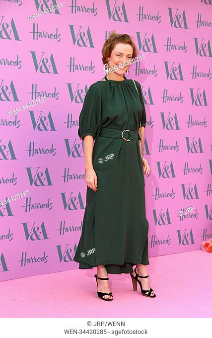 V&A Summer Party Arrivals in partnership with Harrods, London, United Kingdom Featuring: Camilla Rutherford Where: London