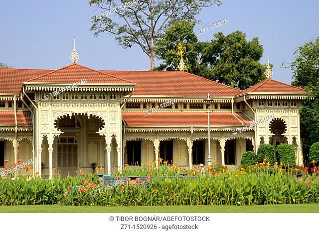 Thailand, Bangkok, Dusit, Abhisek Dusit Throne Hall