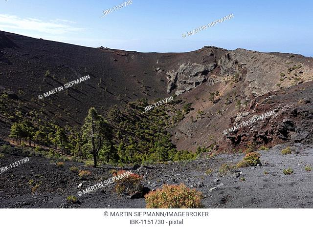 San Antonio Volcano near Fuencaliente, La Palma, Canary Islands, Spain, Europe