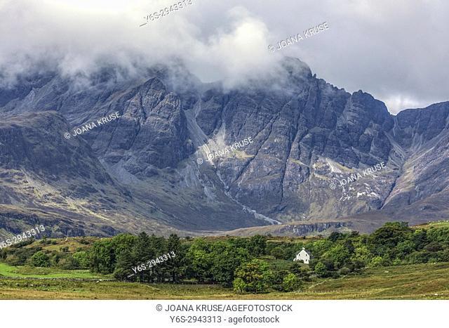 Black Cuillins, Strath Suardal, Isle of Skye, Scotland, United Kingdom