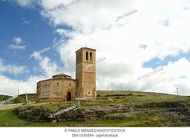 Church of Vera Cruz in surroundings of Segovia, Castilla y Leon, Spain