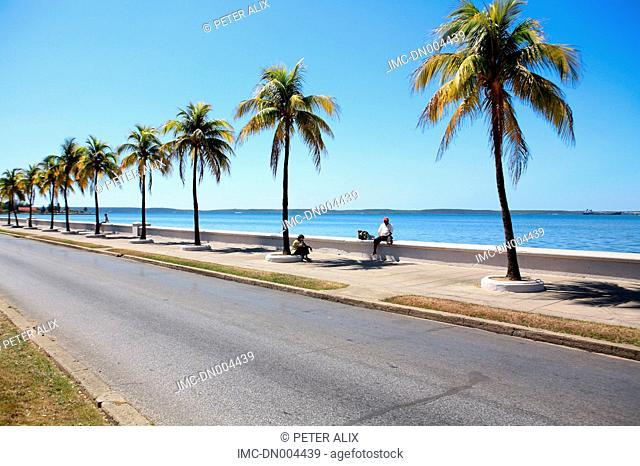 Cuba, Cienfuegos, the pier