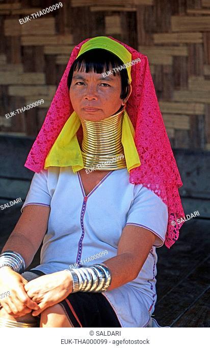 Long neck woman, Padong tribe, North Thailand