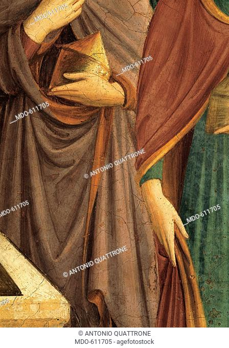 Christ Resurrected or The Message of the Angel, by Guido di Pietro (Piero) known as Beato Angelico, 1438 - 1446, 15th Century, fresco