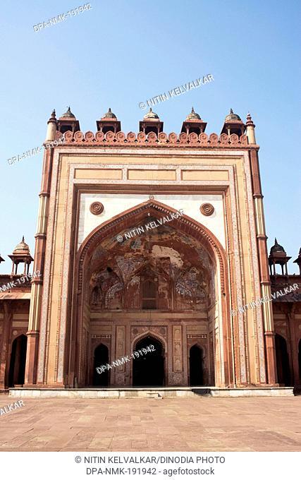 jami masjid fatehpur sikri Uttar Pradesh India Asia
