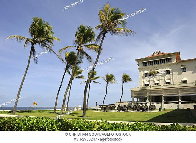 Galle Face Hotel, historic 5-star seafront hotel in Colombo, Sri Lanka, Indian subcontinent, South Asia