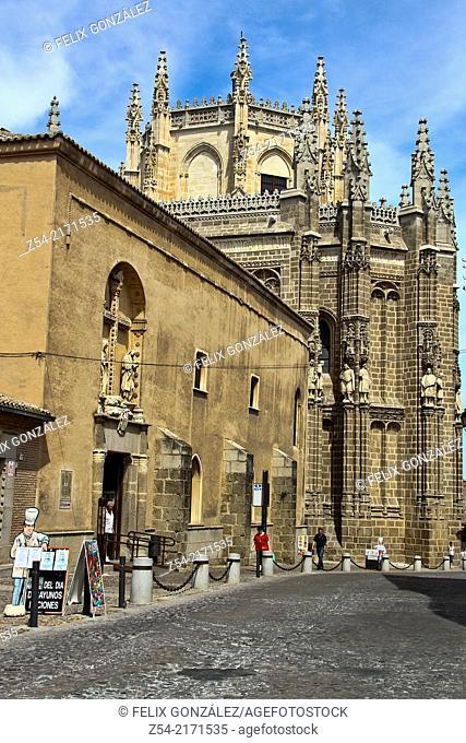 San Juan de los Reyes church, Toledo, Castile La Mancha, Spain