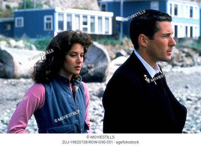 Jul 28, 1982; Seattle , WA, USA; Actors RICHARD GERE stars as officer Zack Mayo with DEBRA WINGER as Paula Pokrifki in 'An Officer and a Gentleman