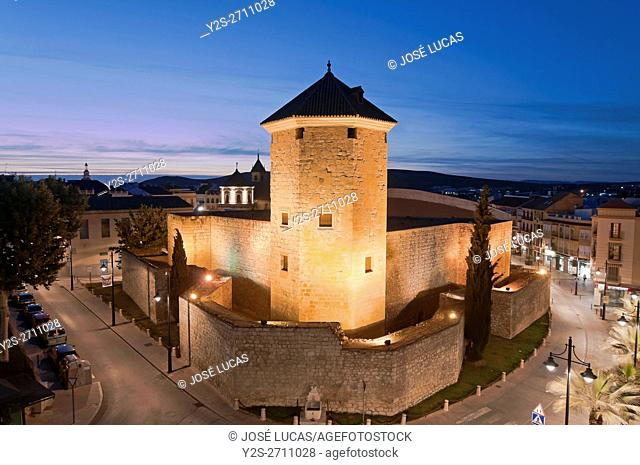 The Moral Castle - 11th century, Lucena, Cordoba province, Region of Andalusia, Spain, Europe