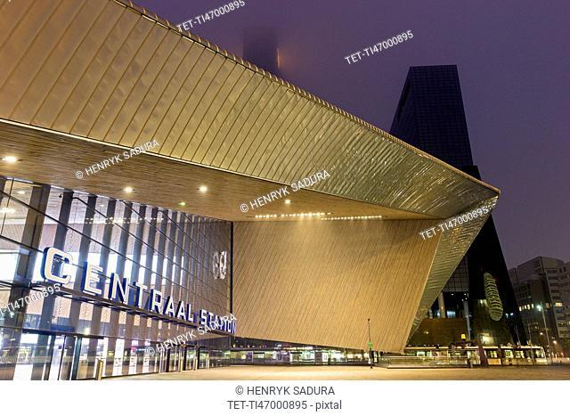 Rotterdam Central railway station