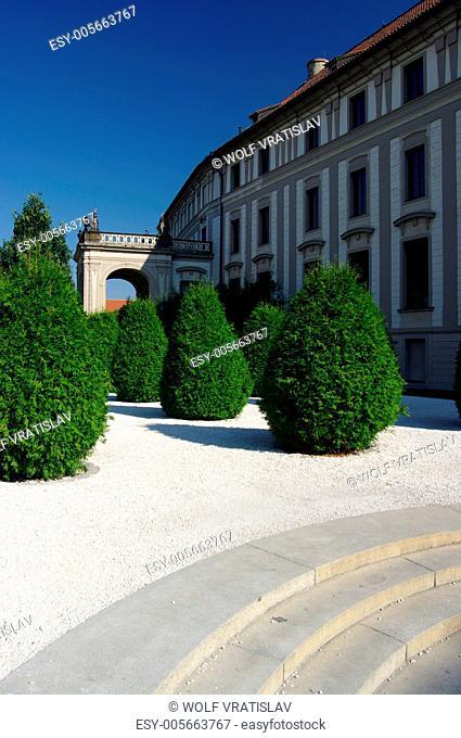 The Garden Na Baste, Prague castle