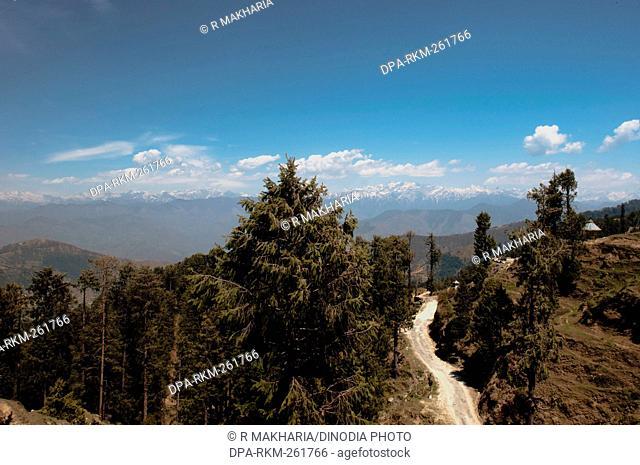 Road, Himachal Pradesh, India, Asia