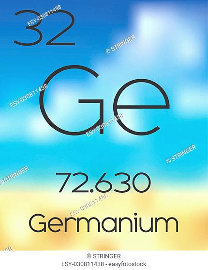 The Periodic Table of the Elements Germanium