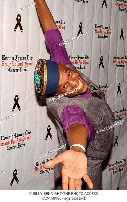 "Angelo Moore arrives at the 3rd Annual """"Bowl 4 Ronnie"""" Celebrity Bowling Tournament, benefiting the """"Ronnie James Dio Stand Up and Shout Cancer Fund fund""""..."