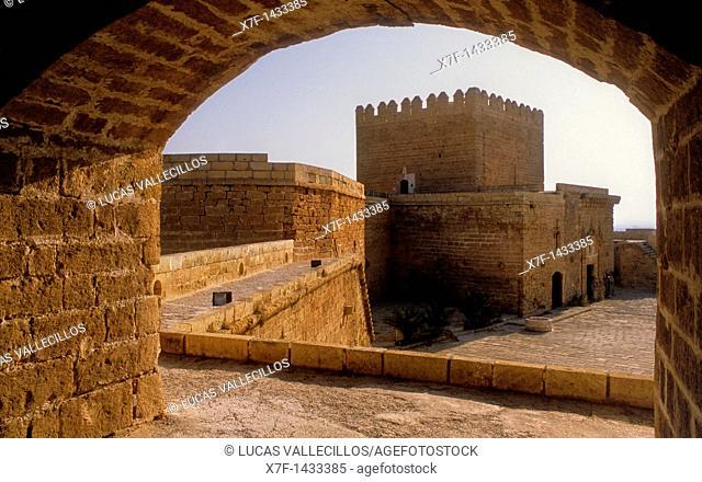 Interior of Alcazaba  Almeria  Andalucia, Spain