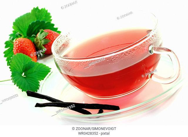 Strawberry-vanilla-tea