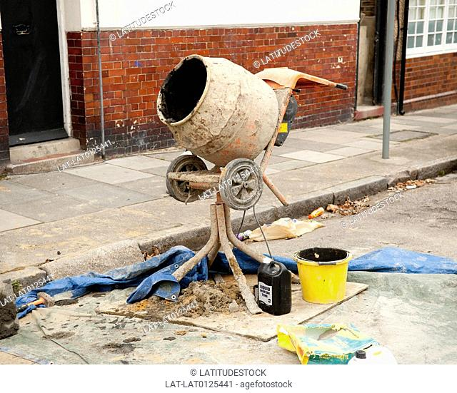 The Cement mixer is an essential item of equipment on most building sites