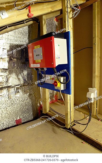 Solar electricity unit