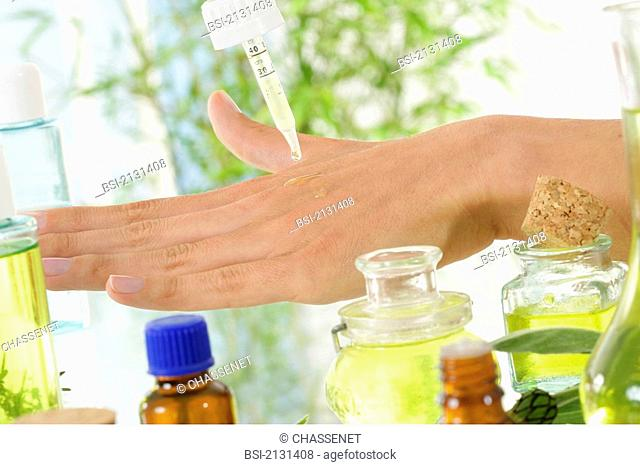 Essential oils must not be applied undiluted on the skin