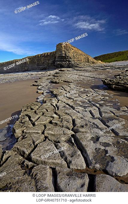 Nash Point on the Glamorgan Heritage Coast