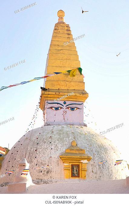 Stupa, Boudhanath, Kathmandu, Nepal