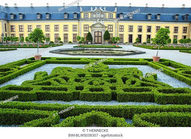 gardens of Herrenhausen, Germany, Lower Saxony, Hanover