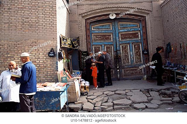 Old city of Kashgar, Xinjiang