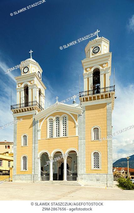 Ipapanti church in Kalamata, Messenia, Greece