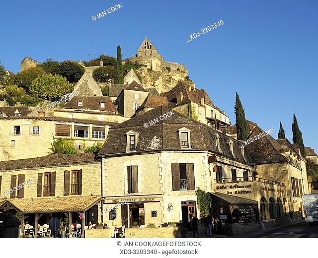 Beynac-et-Cazenac with Chateau de Beynac, Dordogne Department, Nouvelle Aquitaine, France