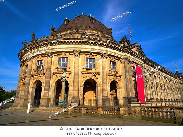 Berlin bode museum dome in Germany