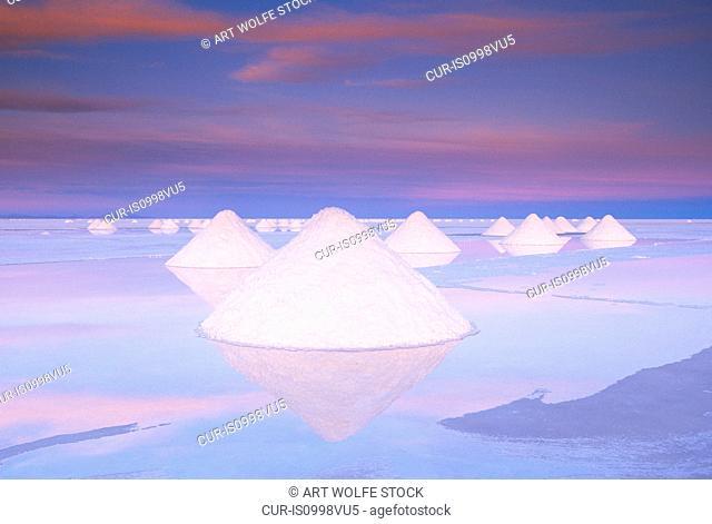 Salar de Uyuni, Altiplano, Bolivia