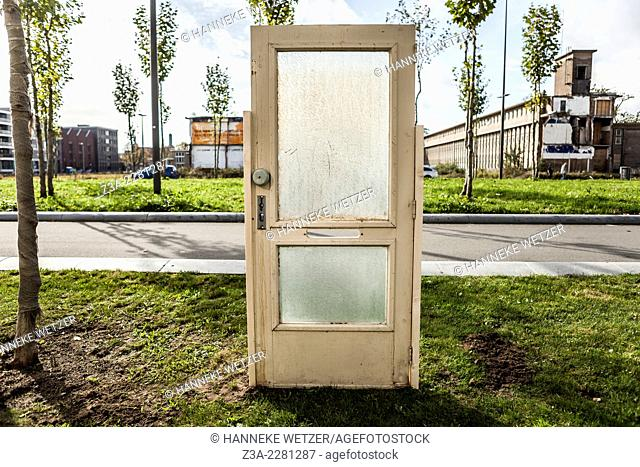 Urban doorway, Eindhoven, the Netherlands
