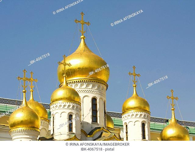 Orthodox Annunciation Cathedral, Moscow Kremlin, Moscow, Russia