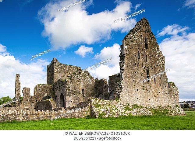 Ireland, County Tipperary, Cashel, Hore Abbey ruins, 13th century
