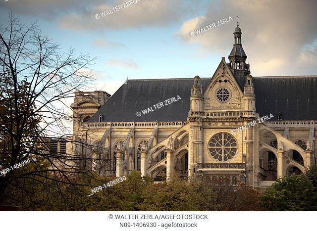 Saint Eustache Church, Paris, France