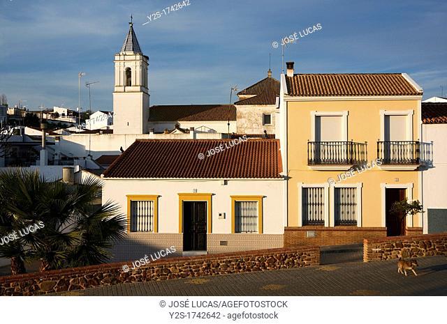 Urban view, El Granado, Huelva-province, Spain