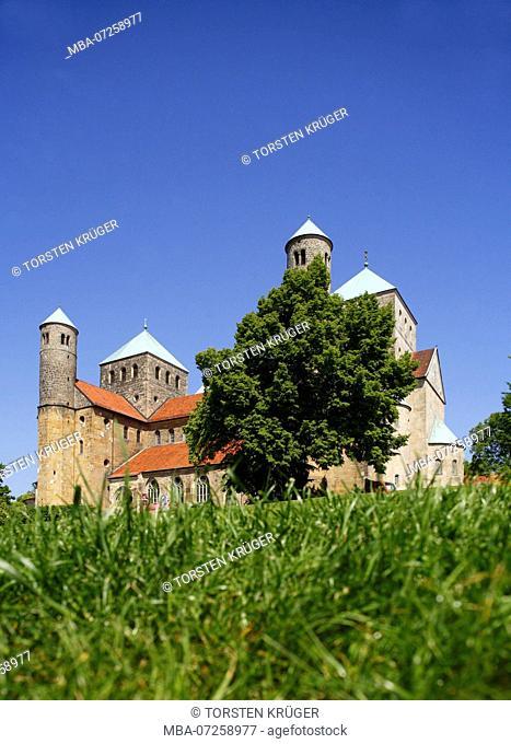 Michaelis church, UNESCO World Heritage Site, Hildesheim, Lower Saxony, Germany, Europe