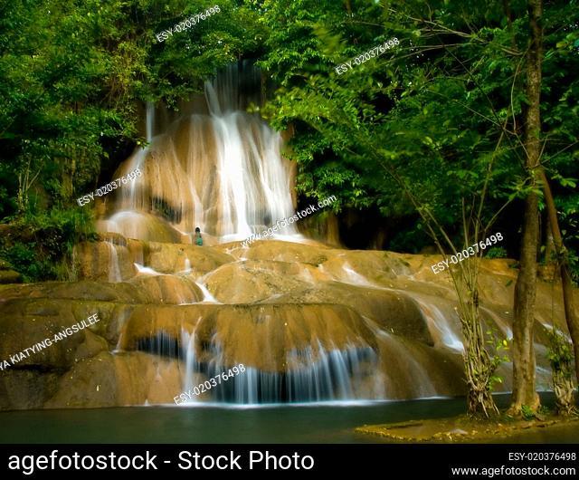 Saiyok Tropical Waterfall