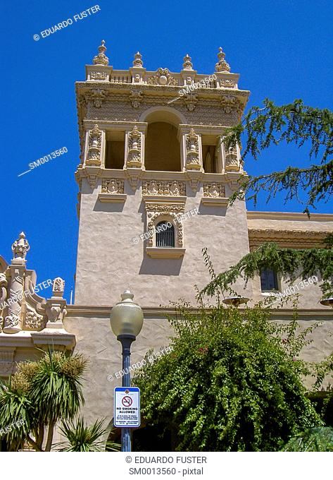 Spanish colonial architecture in California, USA