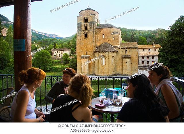Church of Santa Maria, Santa Cruz de la Seros. Huesca province, Aragon, Spain