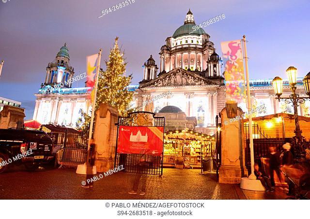 Belfast City Hall, Belfast, Northern Ireland