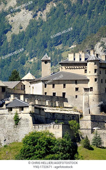 Fort Queyras at Château-Queyras or Château-Ville-Vieille Hautes-Alpes French Alps France
